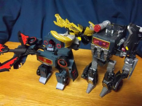 Soundblasters and their minicons by Gentleman-Chuck