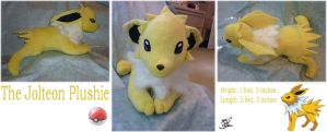 Jolteon Plushie - Commission by apox0n