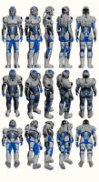 Mass Effect 2, Explorer Armour by Troodon80