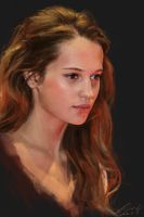Alicia Vikander by buriedflowers