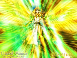 Metatron The Face of God by moai666