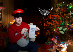 A Merry Bison Christmas 2015 - Street Fighter by robthez