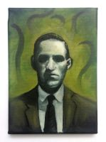 H.P.Lovecraft by Ryben
