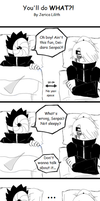 Akatsuki Comic-You'll do WHAT by JericaLilith