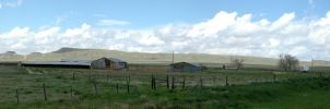 Wyoming along I-25 by MAGMADIV3R