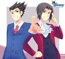 Ace Attorney by Vale-shiro