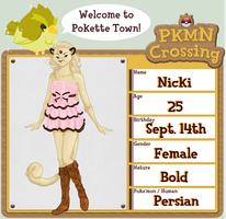 PKMN Crossing - Nicki by WildMaverick