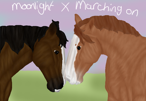Breedpic, Marching on X Moonlight by RisingAngelss