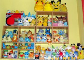 Pokemon plush collection by Danny-the-Mudkip