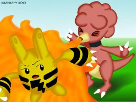 Pokemon: Magby Blast