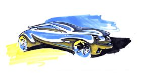 sketch with markers by grote-design