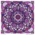 Purple Rise Mandala by Quaddles-Roost