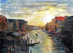 Venice Sunset by SRussellart