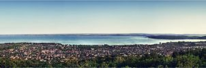 Fured lookout panorama by xGrabx