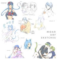 UBF sketches 2 by NuX