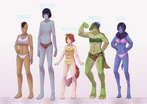 Comm: Sci Fi Lineup by Miss-Sheepy