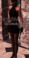 Ada Little Black Dress Model by a-m-b-e-r-w-o-l-f