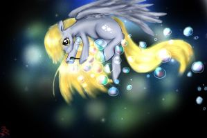 my little derpy by Daughter-of-Fantasy