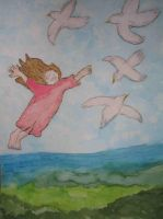 Flying away by ingeline-art