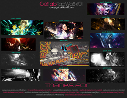 Collab Tag Wall - 01 by always-guto