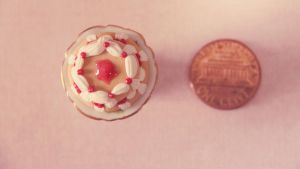Miniature berry cake size by MusicRains