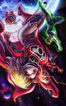 Supergirl Red Lantern by EdgarSandoval