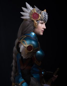 Lenneth - Valkyrie Profile: Covenant of the Plume by NomesCosplay