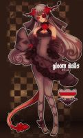 Gloom Dolls Adopts - Alraune01 Closed~ by Lulluria