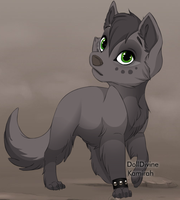 Wolfflight as a 'lil doggy :3 by Chronological-Rising