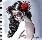 Sugar Skull Girl by rkw0021