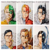 Hero's and their Ego's by shaotemp