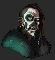Commission: Paleface by GalooGameLady