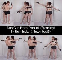 Duo Gun Poses Pack 02 (Standing) by Null-Entity