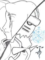 Fma Poster sketch by witchiamwill