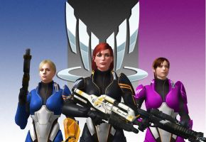 Special Squad Spectres by BeatrixShepard