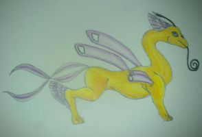 Insect dragon by Tallonis