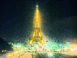 Parisbynight by MeachDarby