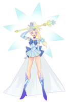 Frozen: Pretty Snow Guardian Elsa by muminika