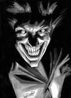 J. K. Woodward Joker by Club-Batman