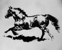 Quick Horse Ink by Smirtouille