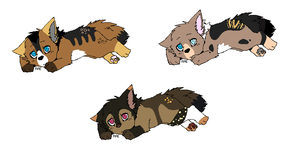 Pup litter 10 by LizzysAdopts