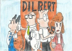 Scott Adams' Dilbert by FelixToonimeFanX360