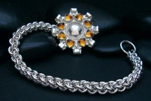 Citrine Sun Bracelet by tinkerSue