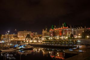 Victoria Harbour by ackbad