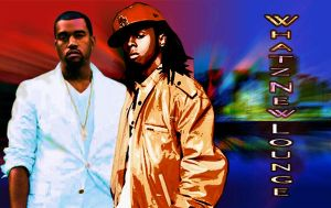Kanye West and Lil Wayne by NaTaG