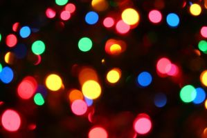 CHRISTMASBOKEH STOCK BACKGROUND by reedjones