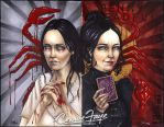 Penny Dreadful Sketch Cover Commission by ConnieFaye