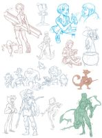 Twitter Sketch Dump by CauseImDanJones