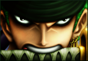 Zoro - Let's Get Serious by DeBaron8