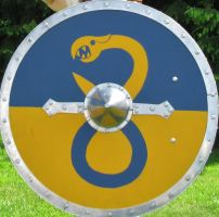 Shield with Wyrm by Dewfooter